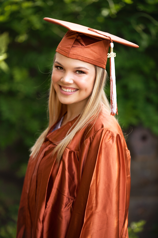 Senior Cap and Gown time » E Cubed Photography